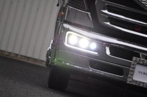 ナイトスター トラック用パーツ ダンプ用 ヘッドライト 3連テールランプ